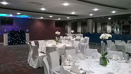 Parties at Ashton Gate Stadium