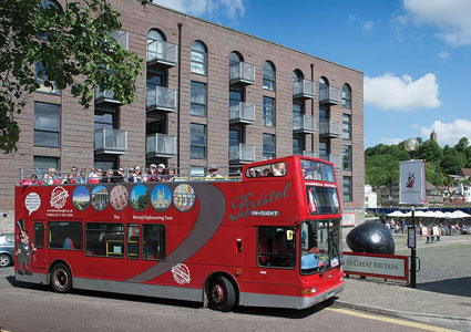 Take a bus tour in Bristol