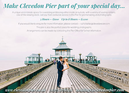 Weddings at Clevedon Pier