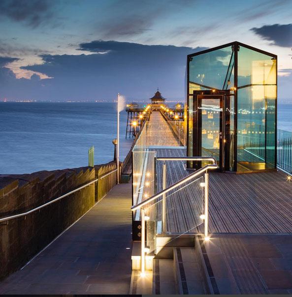 Clevedon Pier Sunset