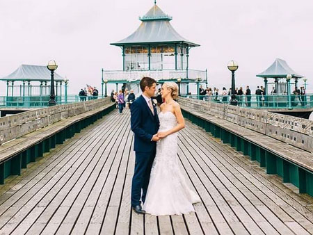 weddings _on Clevedon Pier
