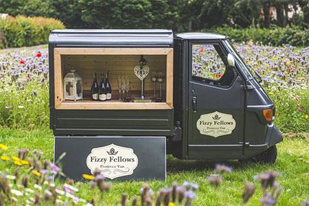Fizzy Fellows Prosecco Van
