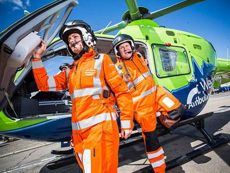Great Western Air Ambulance Charity team