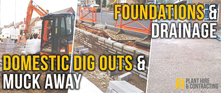 JH Group are a leading Plant Hire & Groundwork Contractor for the South West
