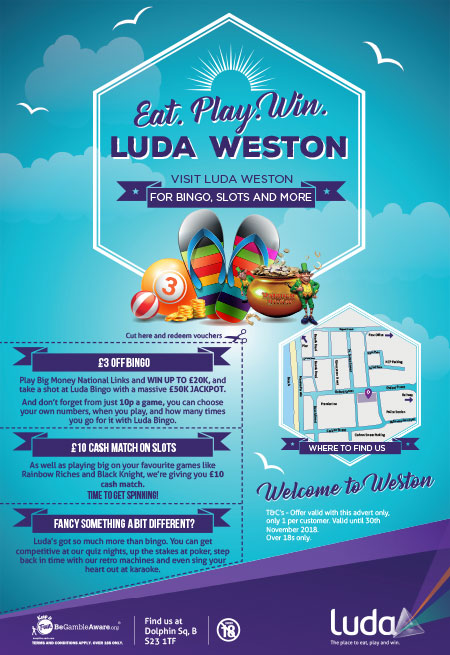 Luda Bingo Cafe Westn-super-Mare