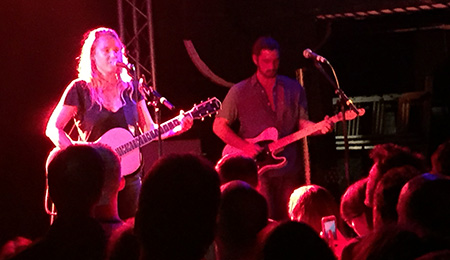 Lissie review at Thekla 25th July 2016