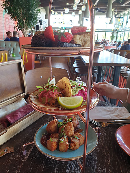 Las Iguanas Afternoon Tea With A Twist Review