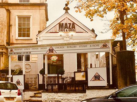 Maza Café And Grill Bristol