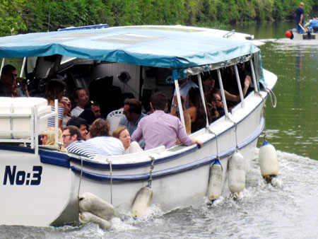 Number 7 Boat trips