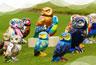 Owls Of Bath Sculpture Trail