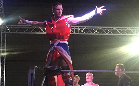 Pro Wrestling Chaos at Thornbury Leisure Centre 23rd July 2016