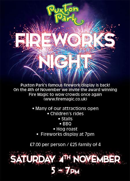 Puxton Fireworks