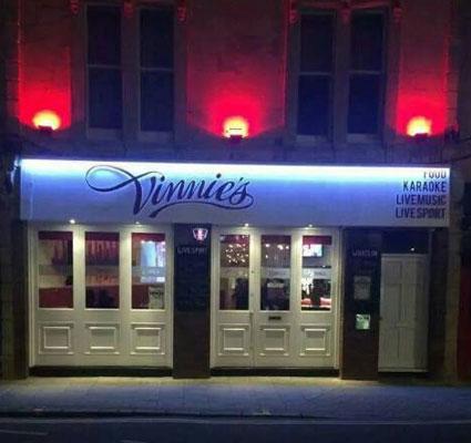 Vinnie's bar Weston super Mare
