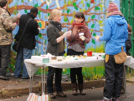 There are lots of volunteering opportunities at the City Farm.