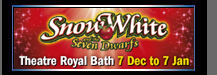 Snow White and the seven dwarfs at the Theatre Royal