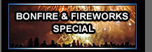 Bonfire and Fireworks Special
