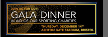 Bristol Sport Garla Dinner In Aid Of Our Sporting Charities
