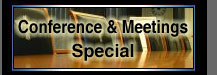 conference and meetings special