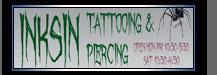 Inks In Tattoo Studio