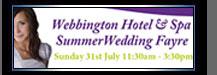 Webbington Hotel and Spa wedding day