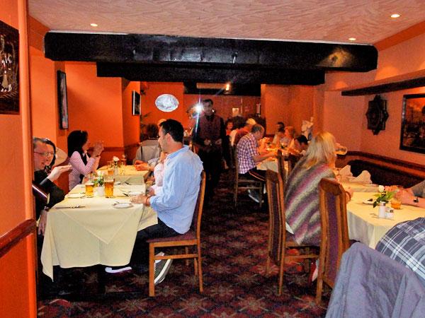 Cinnamon Restaurant Keynsham Menu