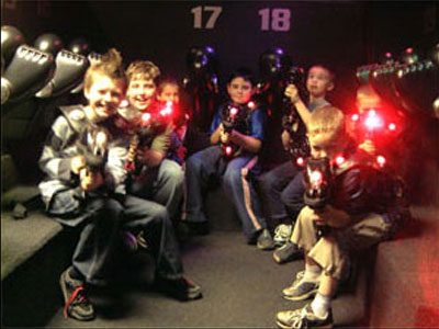 Whats On Westonsupermare Darklight Laser Tag